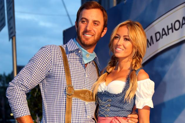 Paulina Gretzky and Dustin Johnson Will Continue to Take PGA Tour by Force