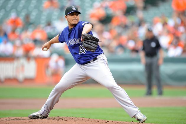Rockies' Jhoulys Chacin, Pitching with Heavy Heart, Loses to Orioles