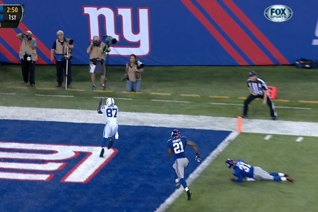 Reggie Wayne Makes Some Amazing Catches During Colts-Giants Preseason Game