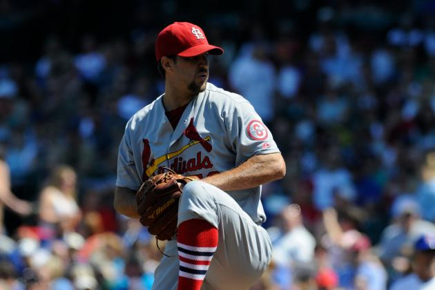 Wainwright Wins 1st Game in Nearly a Month, 6-1 over Cubs