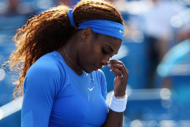 Serena 'Almost Happy' for W&S Open Loss