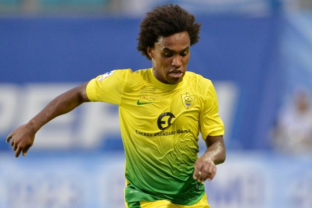 Liverpool Transfer Rumours: Breaking Down What Willian Would Bring to Anfield