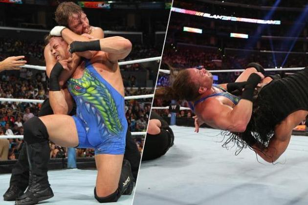 WWE SummerSlam 2013 Results: Company Wise to Protect Dean Ambrose vs. RVD