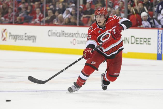 Carolina Hurricanes: Projecting Defensive Pairings for 2013-14 NHL Season
