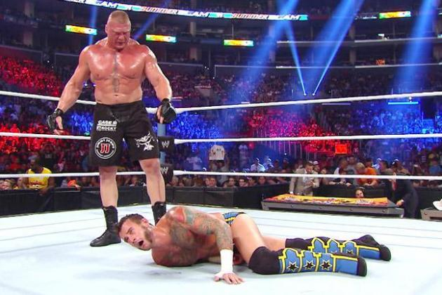 WWE SummerSlam 2013 Results: Winners, Twitter Reaction and Highlights