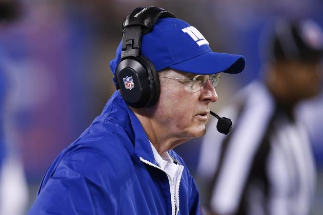 Coughlin Says Giants Need to 'Stop Reading the Clippings' and Prove Themselves