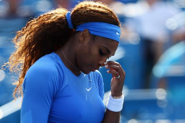 Serena 'Almost Happy' for W&S Open Loss