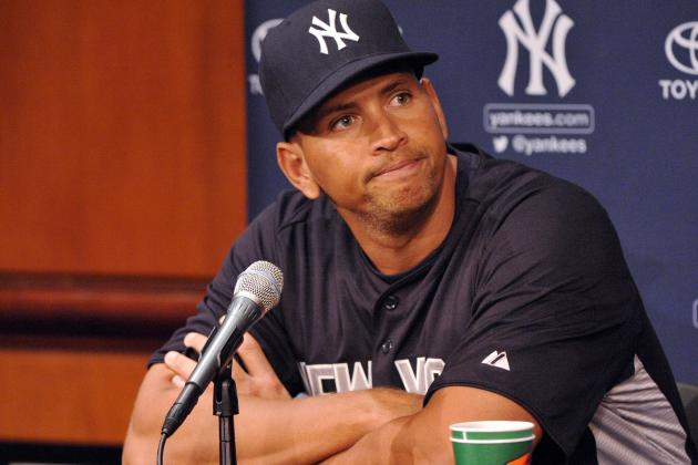 Alex Rodriguez Thinks Ryan Dempster Was 'Silly and Unprofessional'