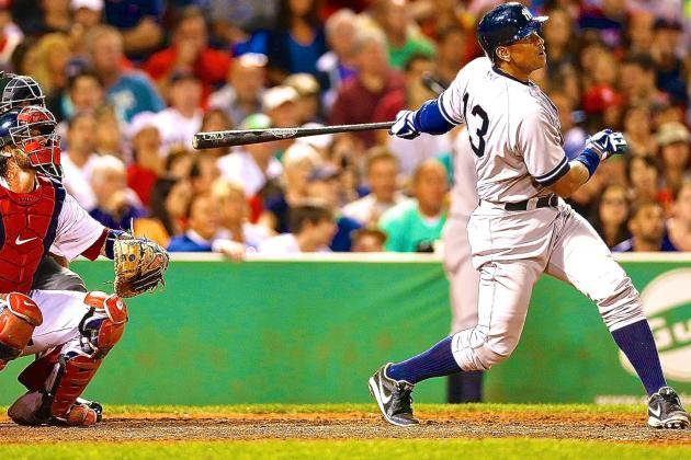Alex Rodriguez Video: Watch Yankees Star Crush Home Run After Getting Plunked