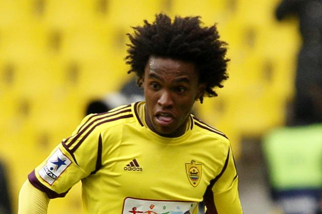 Spurs & Liverpool target Willian confusing everyone on Twitter
