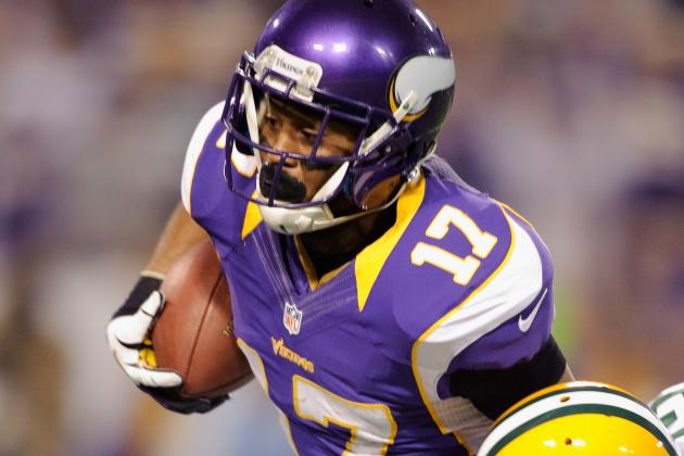 Minnesota Vikings Receiver Jarius Wright Recovering from Concussion