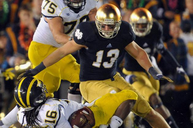 Notre Dame Linebacker Danny Spond Ends Playing Career