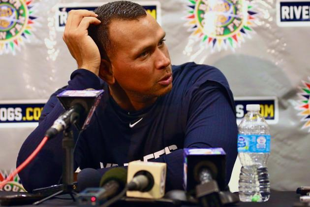 MLB Suspends Alex Rodriguez 211 Games for Role in Biogenesis Scandal