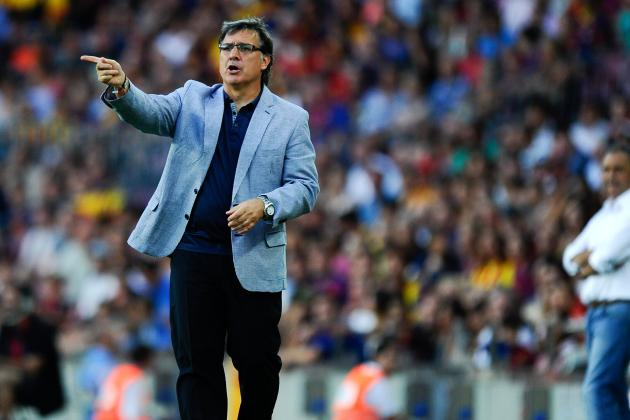 Tactical Analysis of Martino's Barcelona in 7-0 Win over Levante