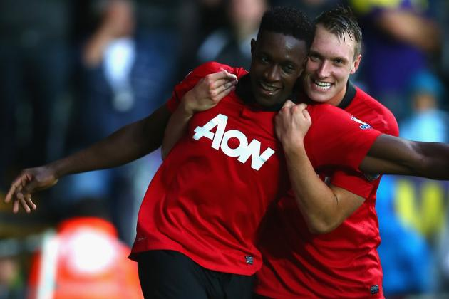 What Is Danny Welbeck's Best Position for Manchester United?
