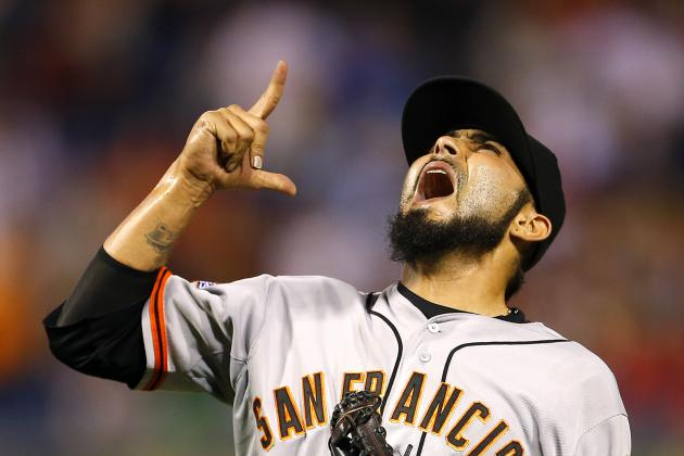 Sergio Romo Joins Elite Company with Save Against Marlins