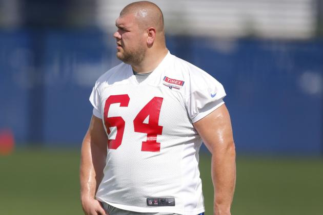 How Giants Could Juggle the Offensive Line