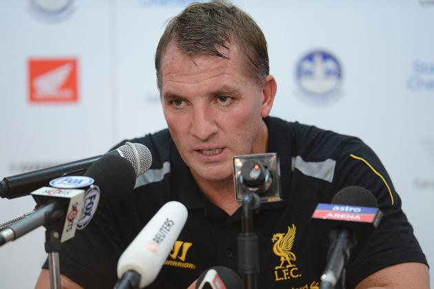 Brendan Rodgers Lauds Liverpool 'Camaraderie'
