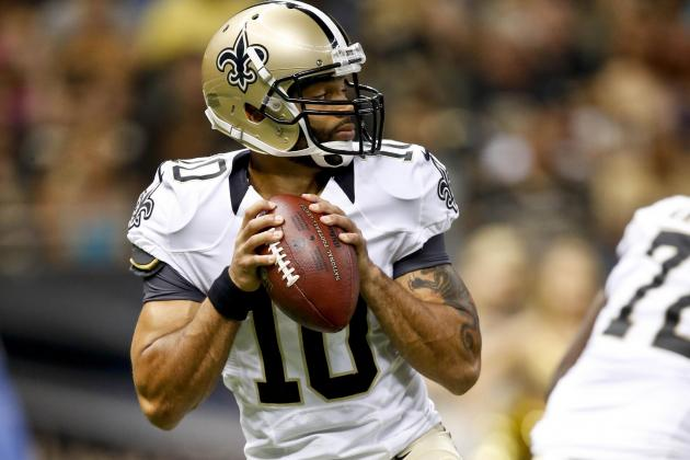 Report: Saints Release Backup QB Seneca Wallace