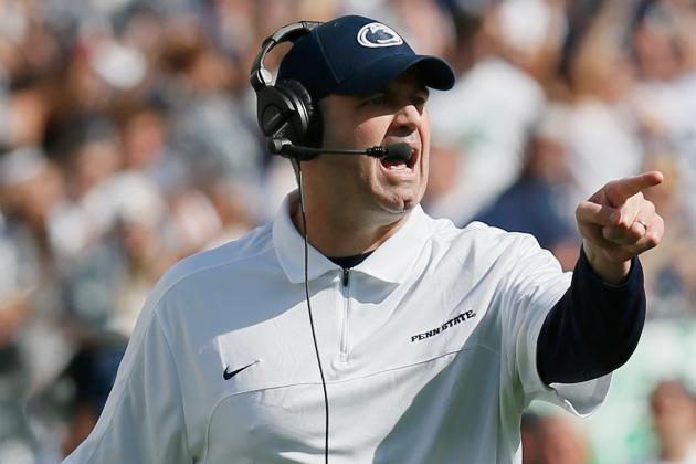 Penn State Coach O'Brien to Keep 'go for It' Strategy