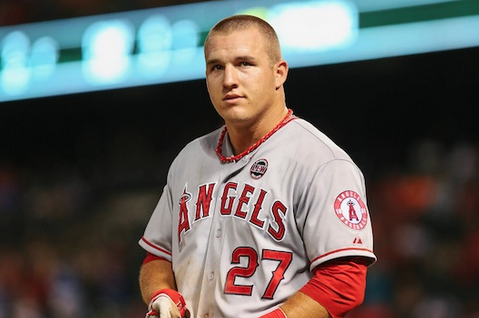 Mike Trout Is Day-to-Day with a Tight Hamstring