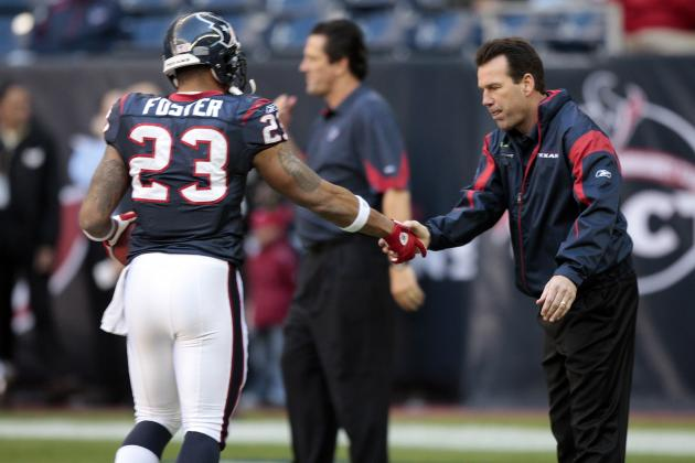 Kubiak: Foster's Back Injury Bothering Him 'In His Legs' Too