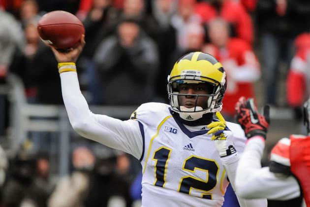 Heisman Odds for Michigan QB Devin Gardner Are 25-1