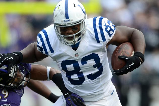 MRI on Knee Clear for Coby Fleener; Dwayne Allen Will Return to Practice