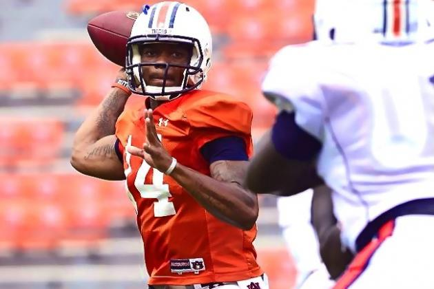 Auburn QB Nick Marshall Isn't Cam Newton, but the Similarities Are Unavoidable
