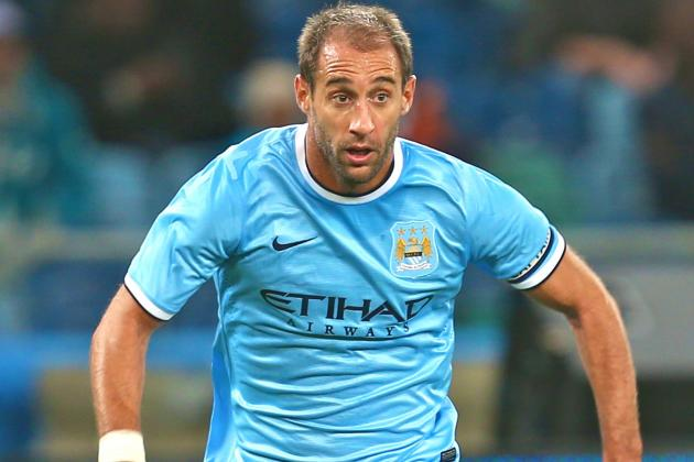 Pablo Zabaleta Signs 4-Year Contract with Manchester City