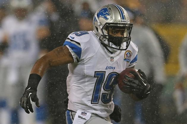 Lions Release WR Mike Thomas