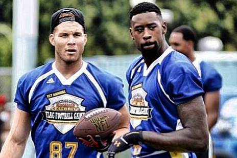 Instagram: Blake, DeAndre Suit Up for Flag Football