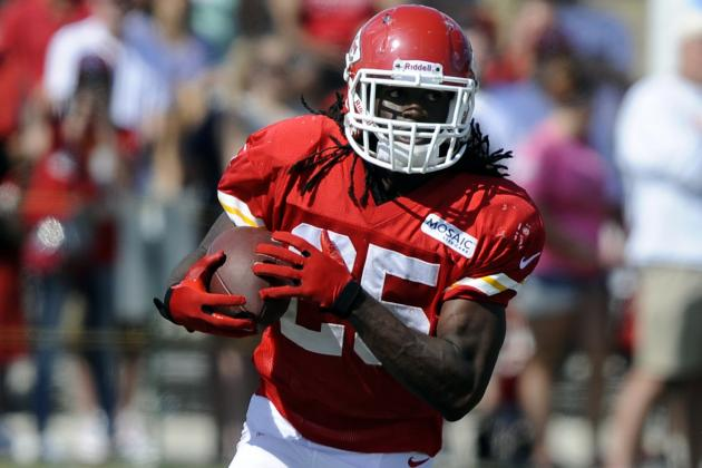 Jamaal Charles Unsure When He'll Play Again for Chiefs in Preseason
