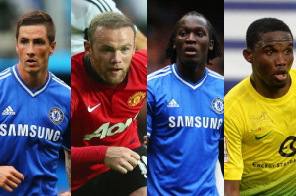 Which Striker Is the Best Fit for Chelsea: Torres, Eto'o, Rooney or Lukaku?