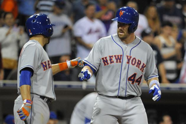 D'Arnaud Sticks, Recker Optioned