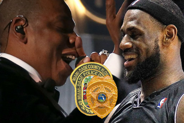 Cops in Hot Water over LeBron Escort