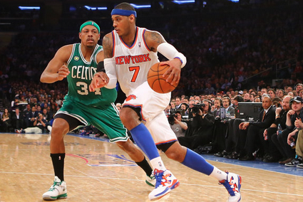 How Should Knicks Isolate Carmelo?