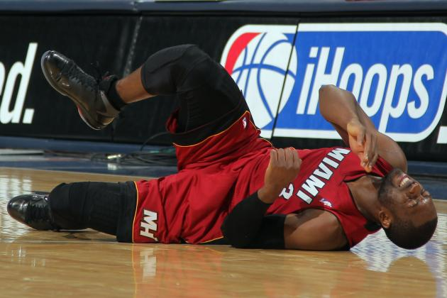 Can LeBron James and Miami Heat Win 3rd Straight Title with Gimpy Dwyane Wade?