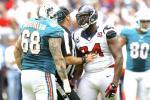 Report: NFL Suspends Texans' Antonio Smith for Helmet Swing