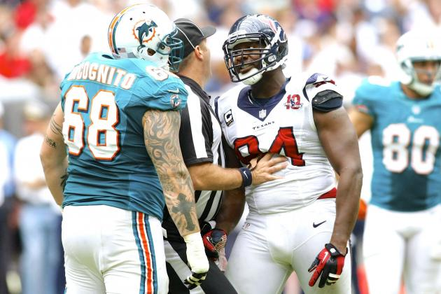 Antonio Smith Suspended by NFL After Richie Incognito Fight