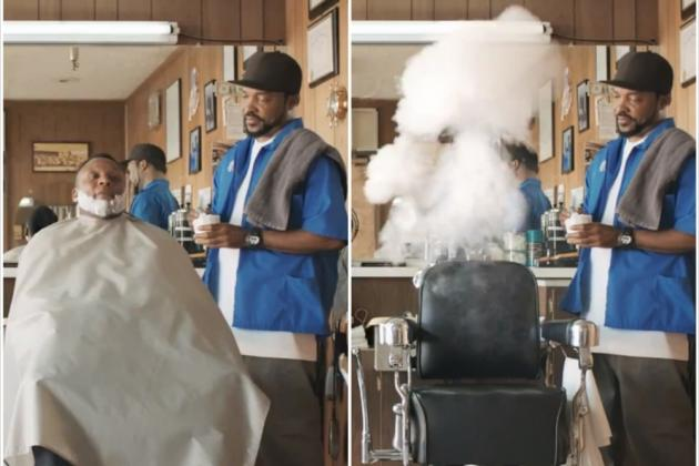 Barry Sanders Shows off His Ability to Disappear in 'Madden NFL 25' Ad