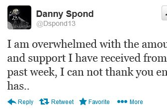 Notre Dame's Danny Spond Takes To Twitter To Thanks Fans For Their Support