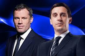 Man United Legend Neville Calls Liverpool Hero Carragher a Burglar on MNF