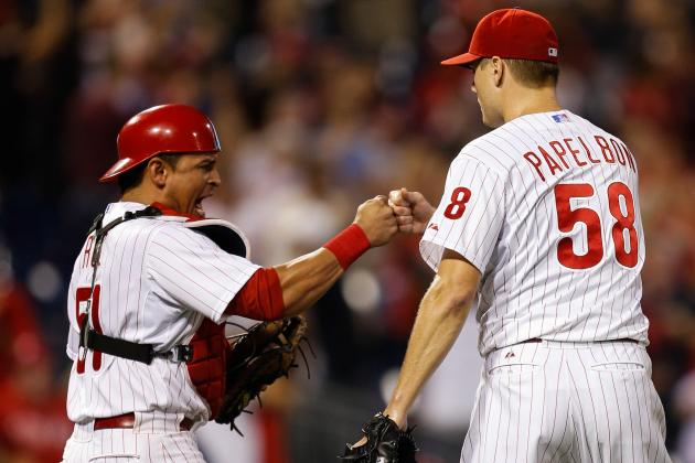 Power Arms & Bats Give Phils 2nd Straight Win