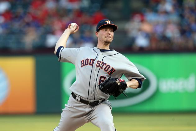 Astros Pummeled in Series Opener vs. Rangers