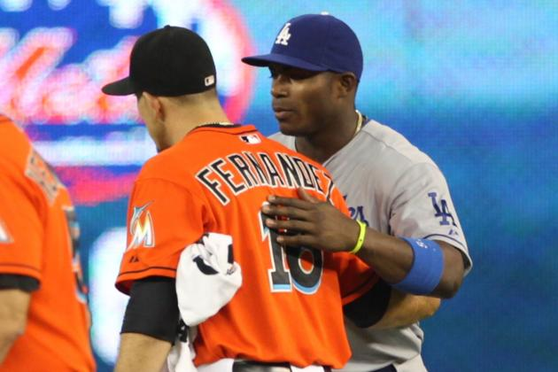 Cuban Connection Is Made Before Dodgers' 6-2 Loss at Miami