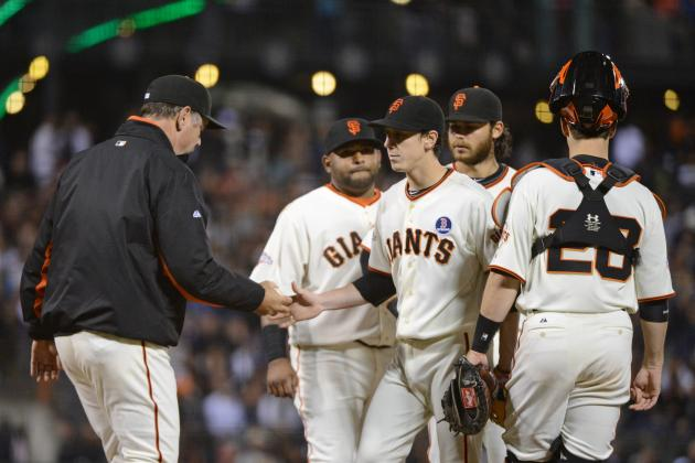 Lincecum Struggles with Command, Hit Hard by BOS