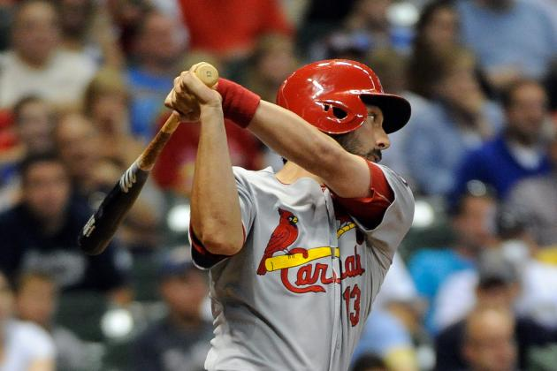 Carpenter's Single Helps Cards Rally to Win over Brewers