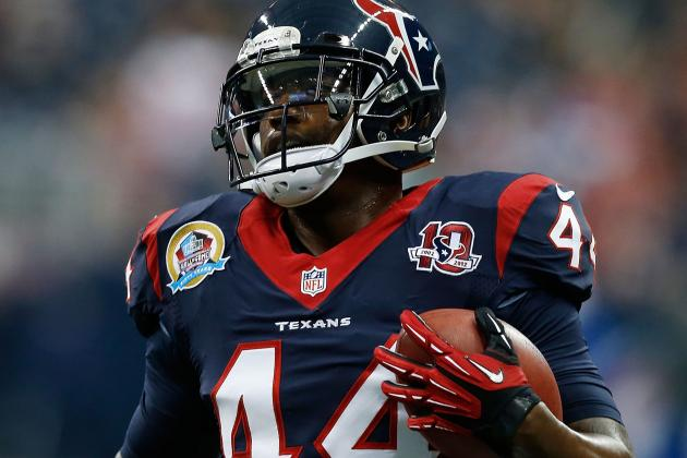 Texans' Tate Ready for Full-Time Role at Running Back with Foster out