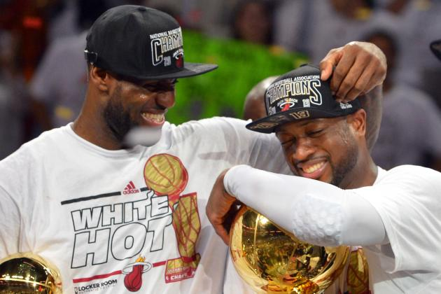 Dwyane Wade Doesn't Think LeBron James Will Leave Heat in 2014